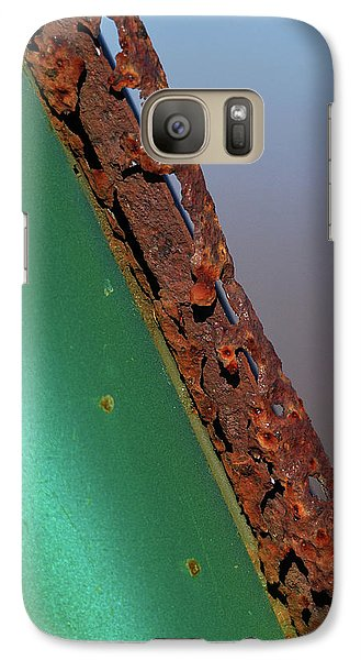 Galaxy Case featuring the photograph International Green by Susan Capuano