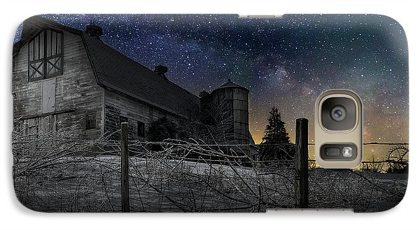 Galaxy Case featuring the photograph Interstellar Farm by Bill Wakeley