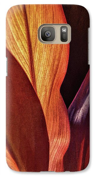 Interweaving Leaves I Galaxy S7 Case