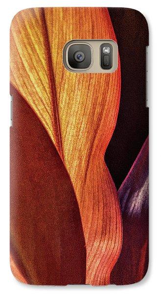 Interweaving Leaves I Galaxy S7 Case