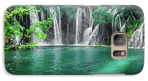 Into The Waterfalls - Plitvice Lakes National Park Croatia Galaxy S7 Case