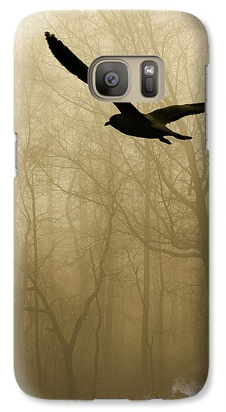 Galaxy Case featuring the photograph Into The Fog by Harry Spitz