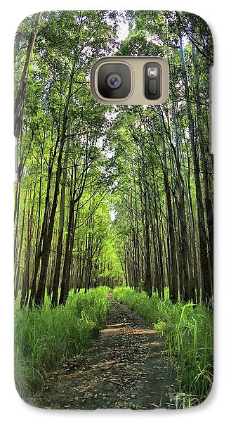 Galaxy Case featuring the photograph Into The Forest by DJ Florek