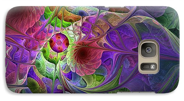 Galaxy Case featuring the digital art Into The Imaginarium  by NirvanaBlues