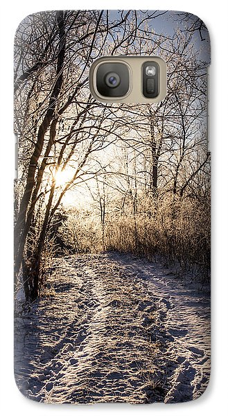 Galaxy Case featuring the photograph Into The Light by Annette Berglund