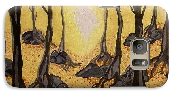 Galaxy Case featuring the painting Into The Light by Carolyn Cable
