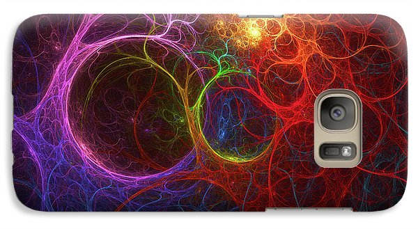Galaxy Case featuring the digital art Into The Light by Deborah Benoit