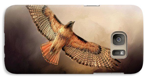 Buzzard Galaxy S7 Case - Into The Light by Donna Kennedy