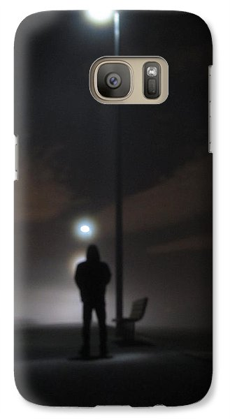 Galaxy Case featuring the photograph Into The Mist by Digital Art Cafe
