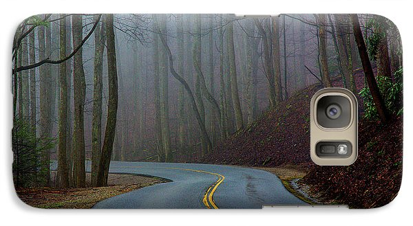 Galaxy Case featuring the photograph Into The Mist by Douglas Stucky
