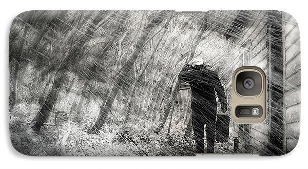 Galaxy Case featuring the photograph Into The Storm by Gray  Artus