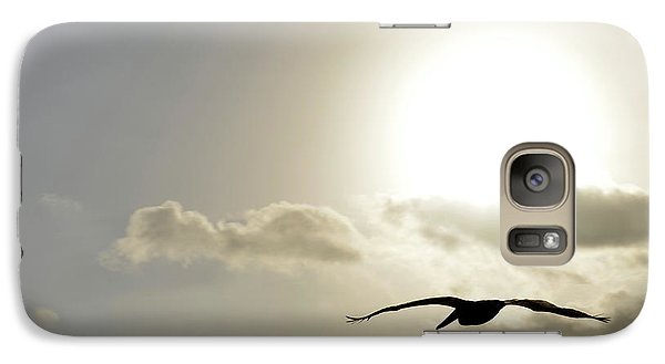 Galaxy Case featuring the photograph Into The Sun by Sebastien Coursol