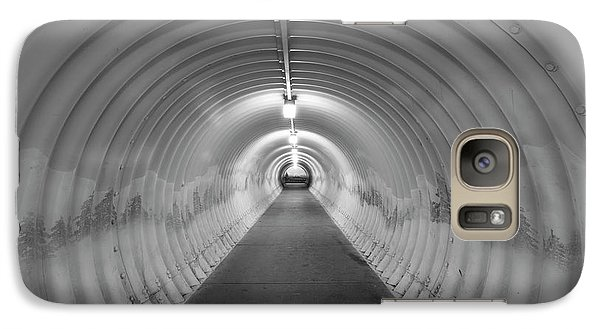 Galaxy Case featuring the photograph Into The Tunnel by Juli Scalzi