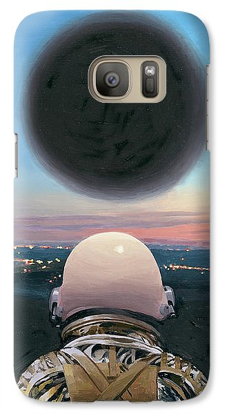 Into The Void Galaxy S7 Case by Scott Listfield