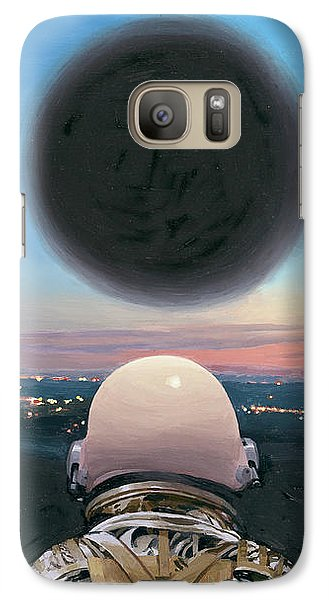 Into The Void Galaxy Case by Scott Listfield