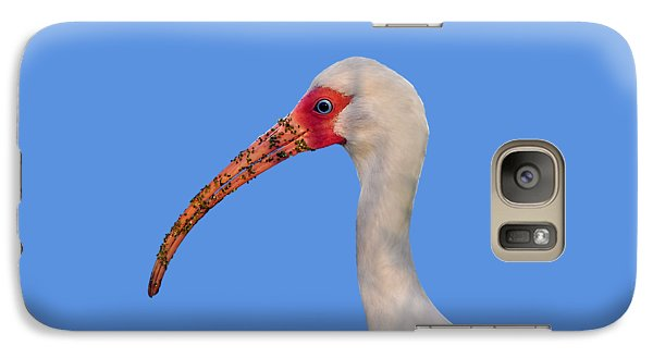Galaxy Case featuring the photograph Intriguing Ibis .png by Al Powell Photography USA