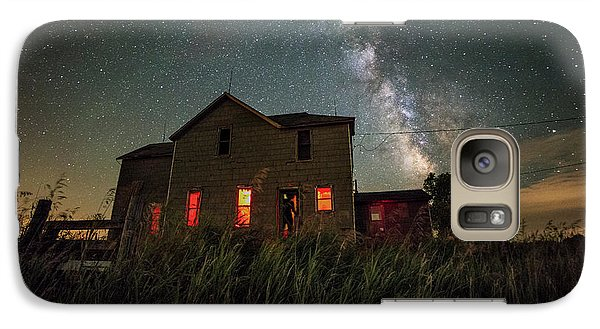 Galaxy Case featuring the photograph Invasion by Aaron J Groen
