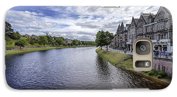 Galaxy Case featuring the photograph Inverness by Jeremy Lavender Photography