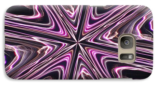 Galaxy Case featuring the photograph Inviolate Violet by David Dunham