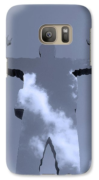 Galaxy Case featuring the photograph Invisible ... by Juergen Weiss