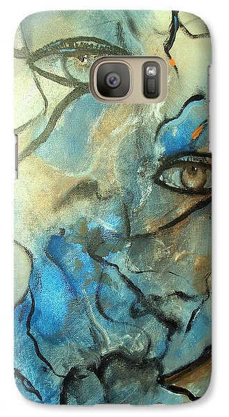 Galaxy Case featuring the painting Inward Vision by Raymond Doward