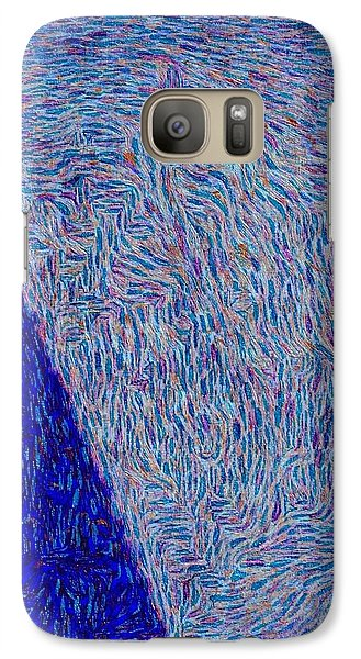 Galaxy Case featuring the photograph Inward by William Wyckoff