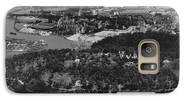 Inwood Hill Park Aerial, 1935 Galaxy S7 Case