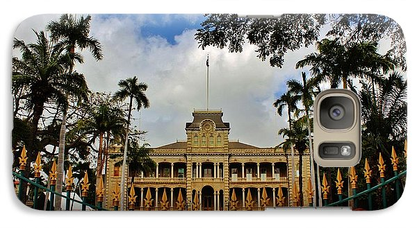 Galaxy Case featuring the photograph Iolani Palace Reopens by Craig Wood