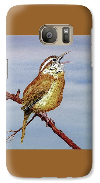 Galaxy Case featuring the painting Irate Wren by Thom Glace