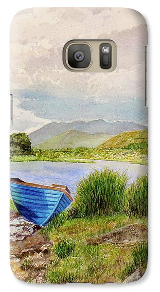 Galaxy Case featuring the painting Ireland by Carol Flagg