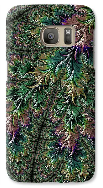 Iridescent Feathers Galaxy S7 Case