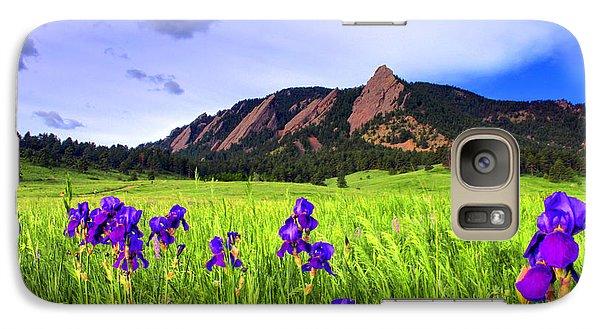 Iris And Flatirons Galaxy S7 Case