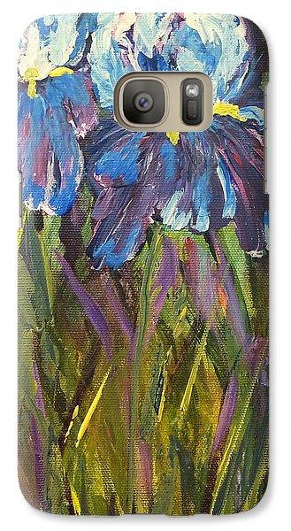 Iris Floral Garden Galaxy S7 Case