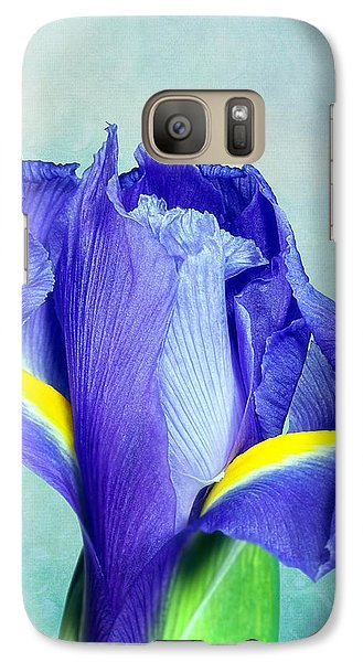Iris Flower Of Faith And Hope Galaxy S7 Case by Tom Mc Nemar
