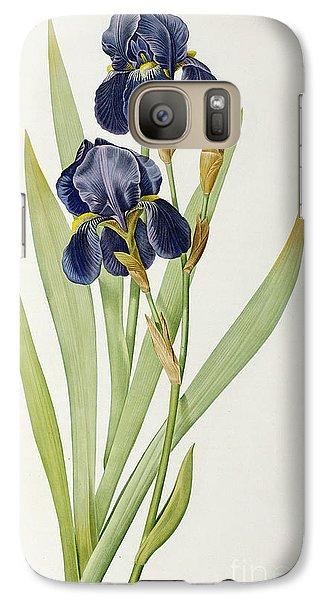 Iris Germanica Galaxy Case by Pierre Joseph Redoute