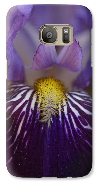Galaxy Case featuring the photograph Iris by Heidi Poulin