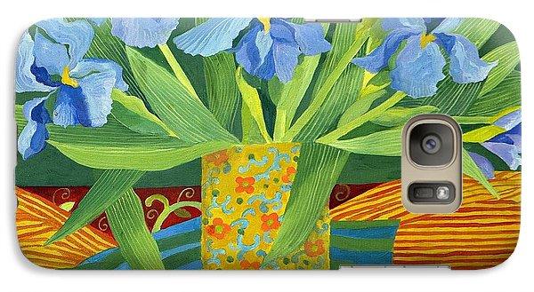 Iris Galaxy Case by Jennifer Abbot