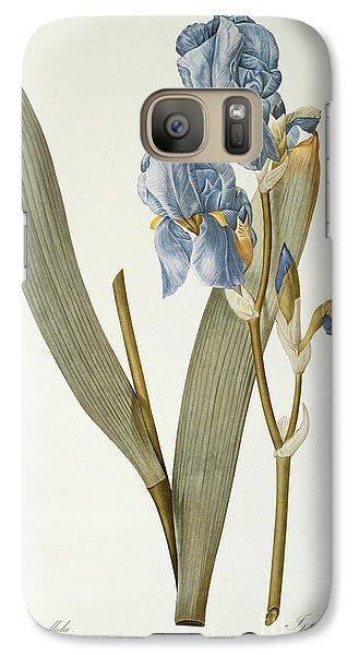 Iris Pallida Galaxy S7 Case by Pierre Joseph Redoute