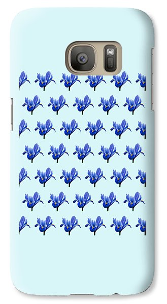 Galaxy Case featuring the photograph Iris Recticulata-2 by Paul Gulliver