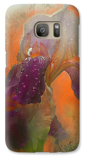 Galaxy Case featuring the digital art Iris Resubmit by Jeff Burgess