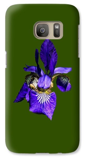 Galaxy S7 Case featuring the photograph Iris Versicolor by Mark Myhaver