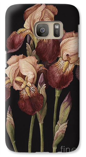 Irises Galaxy Case by Jenny Barron
