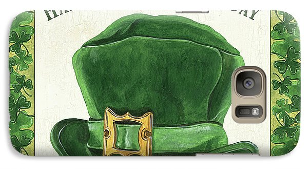 Galaxy Case featuring the painting Irish Cap by Debbie DeWitt