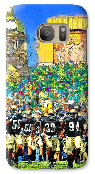 Irish Run To Victory Galaxy S7 Case