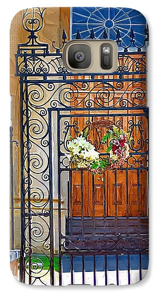 Galaxy Case featuring the photograph Iron Gate by Donna Bentley