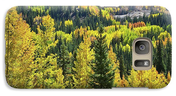 Galaxy Case featuring the photograph Ironton Fall Color by Ray Mathis