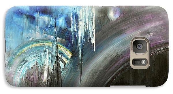 Galaxy Case featuring the painting Irresistible Impulses by Tatiana Iliina