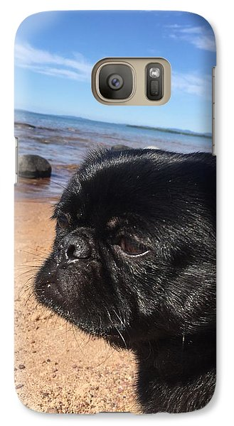 Galaxy Case featuring the photograph Is This My Good Side? by Paula Brown