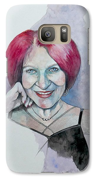 Galaxy Case featuring the painting Isabella by Ray Agius