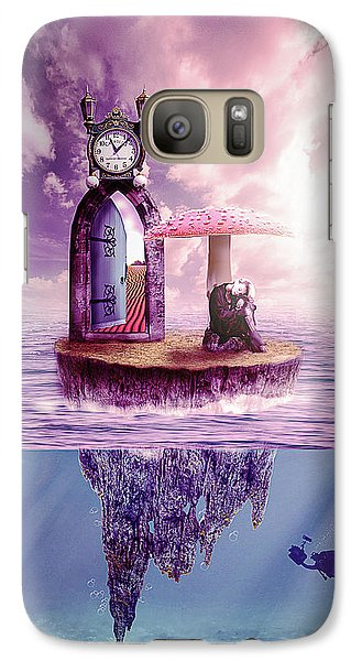 Galaxy Case featuring the digital art Island Dreaming by Nathan Wright